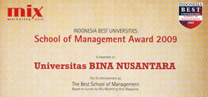 The Best Communication and Management School 2009