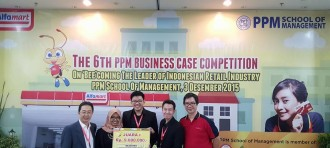 Tim International Marketing (Voyage) Meraih Juara 1 PPM 6th Business Case Competition