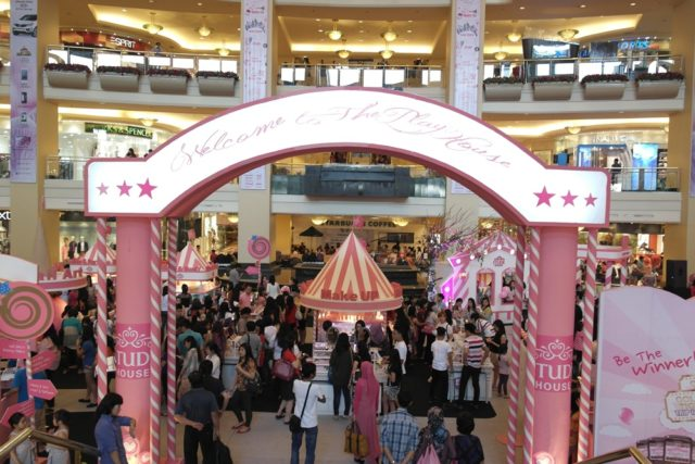 Etude House Time at Mall Taman Anggrek (2013)