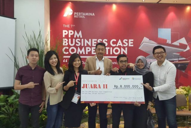 5. Juara 2 lomba The 7th PPM Business Case Competition